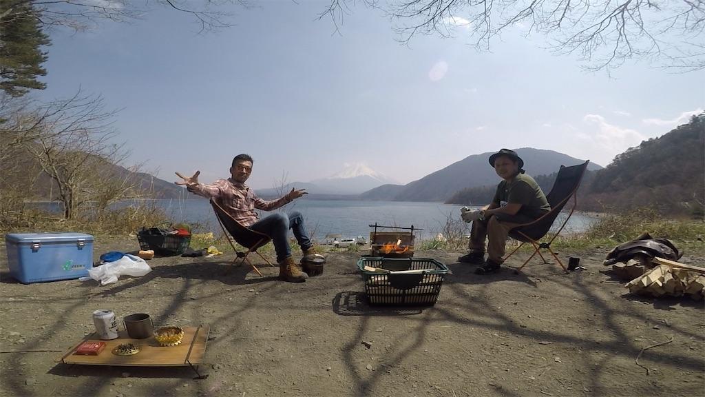 ゆるキャン△の聖地、洪庵キャンプ場(本栖湖)