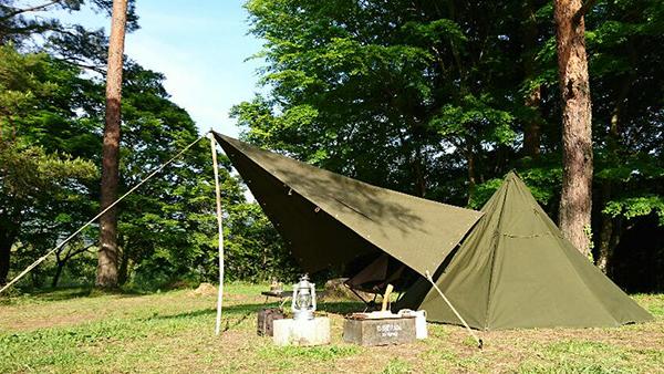 軍幕テントで男前を極めよう|ポーランド軍やUSパップテント〜