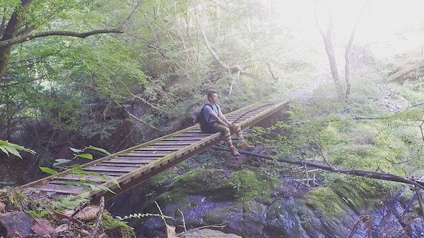 東京にある屋久島!?川苔山の秘境登山に行ってきた