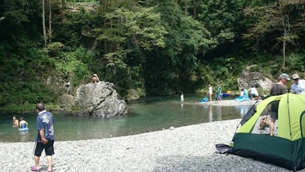 西秋川ドライブインキャンプ場の詳細