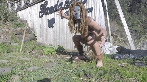 人類の進化を堪能するグルキャンinガンダーラ真鶴キャンプ場