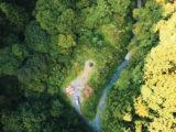 奥多摩野営キャンプ-滝壺ジャンプ-キャニオニング